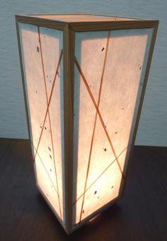 Japanese paper lamp 行灯 和紙
