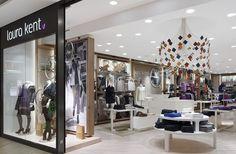 Laura Kent Store Frankfurt, Frankfurt. A project by Ippolito Fleitz Group – Identity Architects, Ceilings.