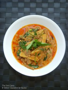 Edible Obsession: Red Curry with Beef & Bamboo Shoots
