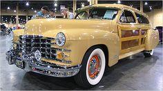 Vern Moeller Custom Cadillac Woody Station Wagon