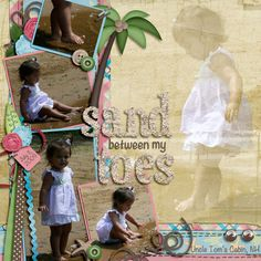 Holiday Beach Scrapbook