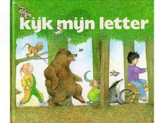 Kijk mijn letter. Boekje met alle letters erin. Bij elke letter staat een versje…
