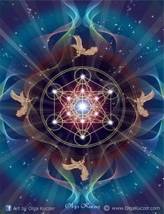 """""""Metatron's Cube contains every shape that exists within the universe. Those shapes are the building blocks of all physical matter, which are known as Platonic solids. The shapes represent the patterns that make up everything God has made. Metatron's Cube helps us realize the harmony and balance of nature. Since it depicts an equilibrium in the six directions represented within it. It can be used as a visual focal point to connect with the Archangels, or as a concentration tool for…"""