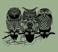 Hoot Hoot... Have this shirt from threadless.com