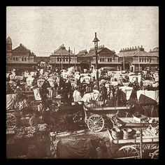 Check out what holiday gift shopping was like in 1885. #ThrowbackThursday #TBT