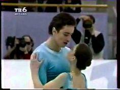 Ekaterina Gordeeva and Sergei Grinkov~ Winter Song www keepvid com