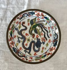 Vintage Japanese A C F Acf Porcelain Decorated In Hong
