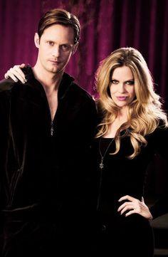 True blood - Eric Northman & Pam de Beaufort