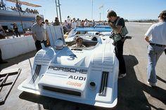 Brian Redman and Vasek Polak's 917-10 at 1973 Riverside Times Grand Prix