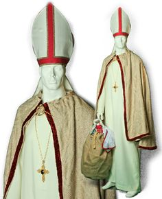 Free sewing pattern for clergy costume