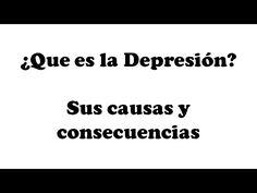 ¿Que es la Depresión? Sus causas y consecuencias