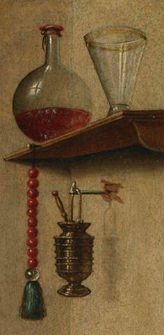 """c.1521-1528 Flandre par Joos Van Cleve (1485-1540) """"Saint Jérôme"""""""