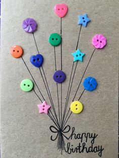 carte d& - Karten - Craft Gifts, Diy Gifts, Handmade Gifts, Homemade Birthday Cards, Homemade Cards, Homemade Valentines, Card Birthday, Diy And Crafts, Crafts For Kids