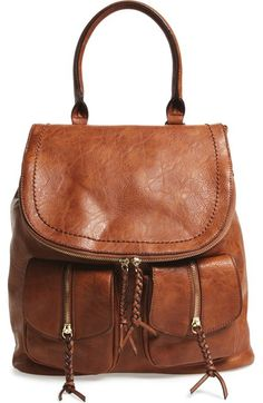 Sole Society Faux Leather Backpack available at #Nordstrom