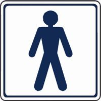 Male / Gents Toilet symbol