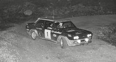 Fiat 131 Abarth Mirafiori rally San Martino di Castrozza 1976 / Veruno - Ninni Russo