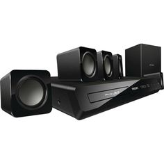 Philips HTS3541/F7 3D Smart Blu-ray Player 5.1-channel Home Theater System (Refurbished) | Overstock.com Shopping - The Best Deals on Blu-ray Players