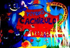 Títeres Cachirulo, cartel de Carmen Domech