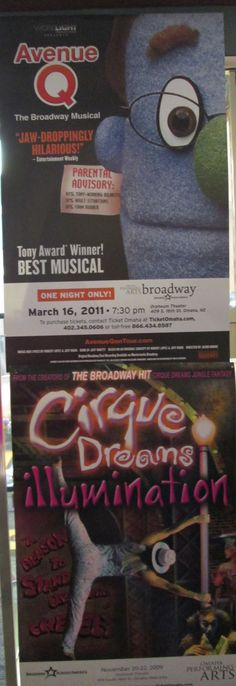 November 2014 Display Case - Hats Off to Broadway!