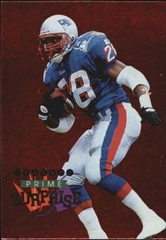 1996 Playoff Prime - Surprise #8 Curtis Martin Front