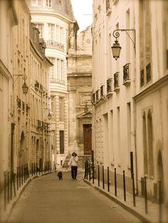 Paris - one Autumn day . . .