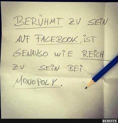 Berühmt zu sein auf Facebook.. | DEBESTE.de, Lustige Bilder, Sprüche, Witze und Videos