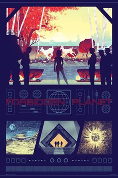Forbidden Planet, by Kevin Tong