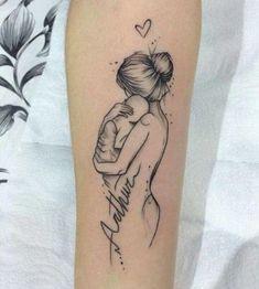 tatuajes de bebes recien nacidos en el brazo