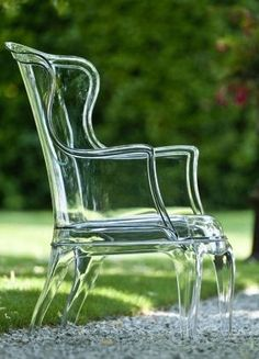 Pedrali - It's like the glass slipper of chairs. So beautiful! xoxo, Costa