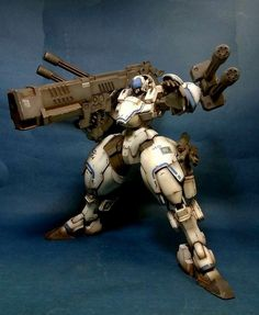 Custom Build: Power Dolls2 Power Loader X-4+(PD-802) Armored Infantry + Serpent Custom Equipment - Gundam Kits Collection News and Reviews