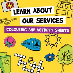 Colouring and activity sheets