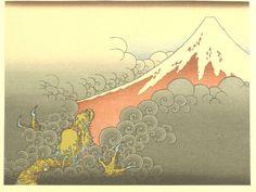 Japanese Ukiyoe Woodblock print Katsushika Hokusai by UkiyoeSalon Japanese Prints, Japanese Art, Hokusai Artwork, Katsushika Hokusai, China Art, Japanese Painting, Woodblock Print, Wabi Sabi, Fuji