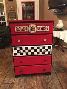 Radiator springs dresser