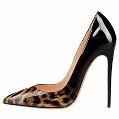 Parisian in Miami - Leopard gradient pumps