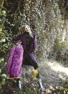 Fashion in purple