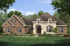 Houseplans French Country House Plans Country Style House Plans Monster House Plans