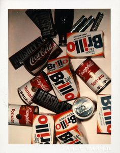 Polaroids by Andy Warhol, 1978-1982