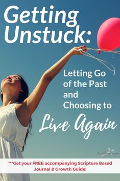 Unstuck: Letting Go of the Past and Choosing to Live AgainGetting Unstuck: Letting Go of the Past and Choosing to Live Again Christian Encouragement, Encouragement Quotes, Identity In Christ, Before Us, Christian Inspiration, Spiritual Growth, Letting Go, Bible Verses, It Hurts