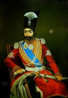 "Bahram Kirmanshahi - ""King of Persia"" (1857)"