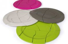 Oops, trivet silicone dishes that appear broken