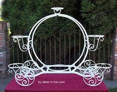 Cinderella Carriage Cake Stand