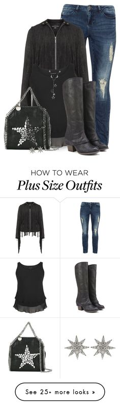 """""""plus Size"""" by seahag2903 on Polyvore featuring JunaRose, Mynt 1792, Chesca, Fergalicious, STELLA McCARTNEY, Bee Goddess and London Road"""