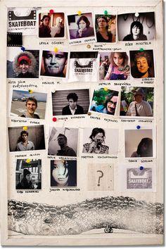 Tablica informacyjna projektu SkateBoat | Design for SkateBoat project