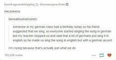 Ah, Germans
