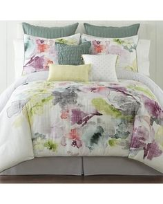 Window & Home Decor, Bedding, Clothing & Accessories King Size Pillow Shams, King Pillows, Queen Comforter Sets, Duvet Sets, Duvet Cover Sets, Bed Sets, Marble Bed Set, Dream Master Bedroom, Floral Comforter