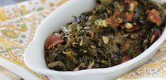 PaleOMG – Paleo Recipes – Bacon Braised Collard Greens