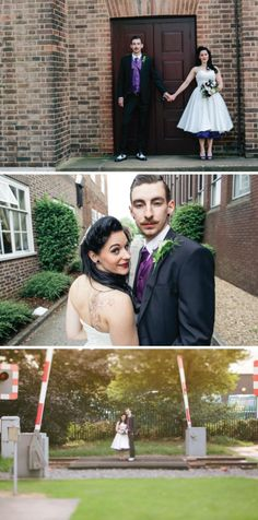 A Real 1950s Rockabilly Wedding in 2013 | Bride Bubble - the ultimate wedding & style blog | http://www.bridebubble.co.uk/a-real-1950s-rockabilly-wedding-in-2013/