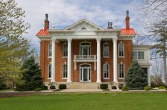OldHouses.com - 1869 Plantation - 86 Acre Country Estate, Stark Mansion, Pike County, MO in Louisiana, Missouri