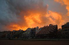 Arde Las Palmas de la Gran Canaria.