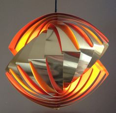 Louis Weisdorf Lyfa pendel Model Konkylie rare and by ICONICLIGHTS, €695.00